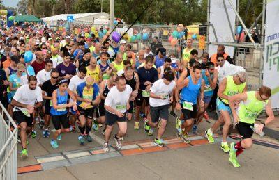 מרוץ SAUCONY חיפה