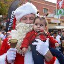 סנטה קלאוס ותינוקת