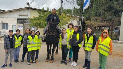 המשטרה הצעירה - תלמידים יסיירו עם השיטור העירוני בגנים הציבוריים