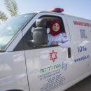 נהגת האמבולנס הבדואית הראשונה במדא, וורוד אבו עאבד