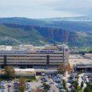 המרכז הרפואי זיו בצפת – מבט מלמעלה.