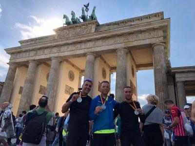 מוסינקו ברזני ואמיגה אחרי המרוץ