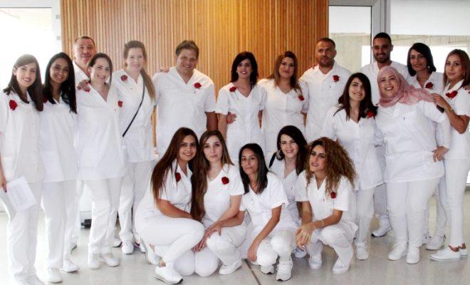 מלאכים בלבן - מחזור בוגרי ביהס זיו לסיעוד זיו 2018