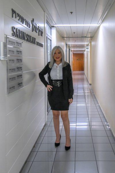 """עו""""ד סולן ליד המשרד"""