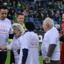 ניצולי השואה לקראת יום השואה הבין לאומי במשחקה של מכבי חיפה